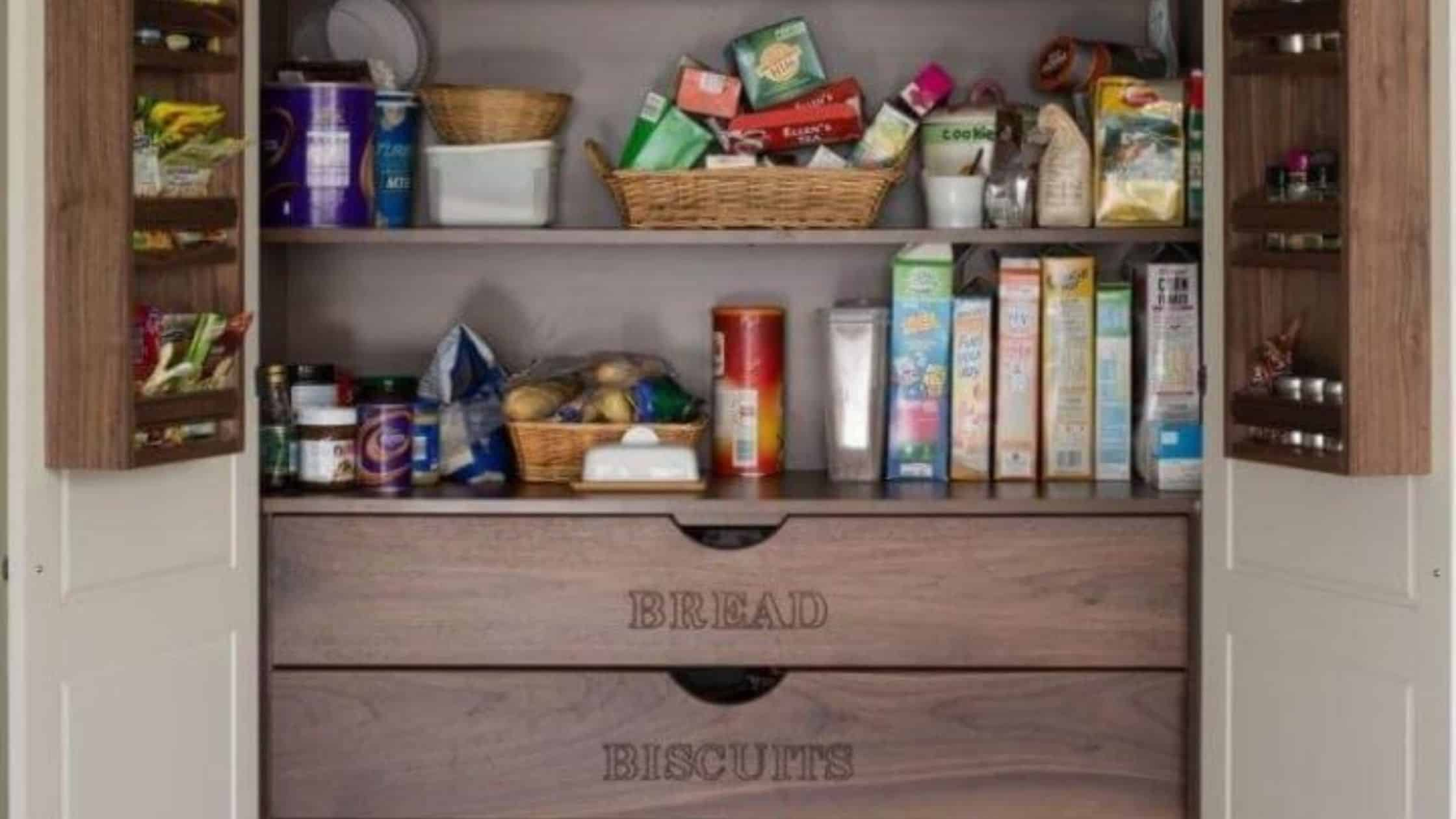 Kitchen Cabinets and Pantry Options