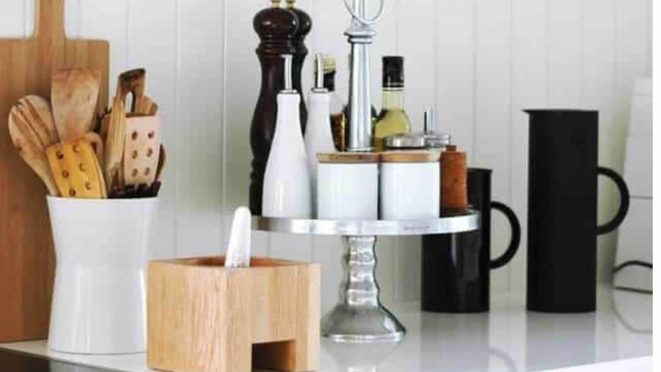 Kitchen Countertop Storage Solutions